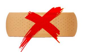 Band-aid Cross